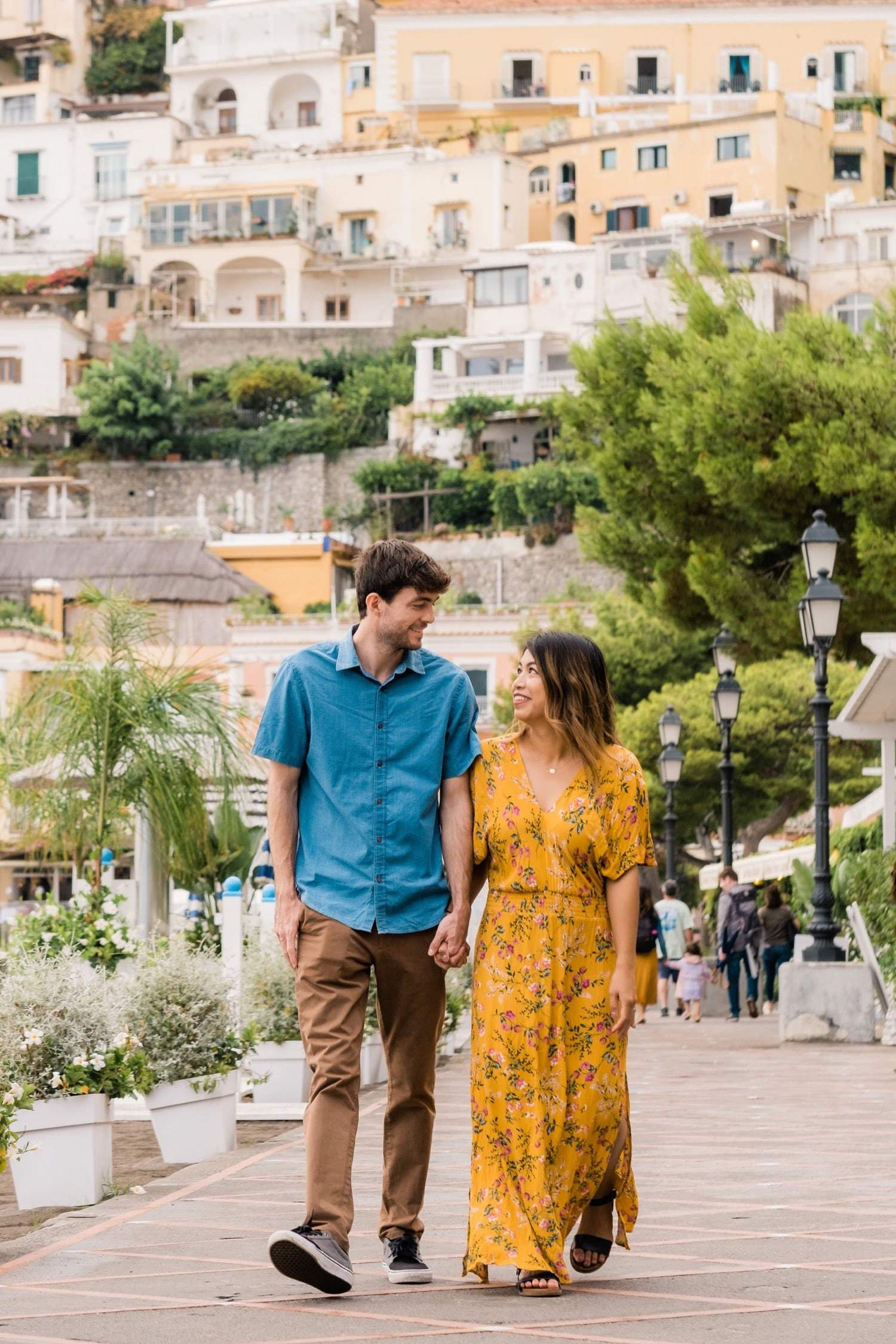 A colorful Amalfi Coast honeymoon adventure