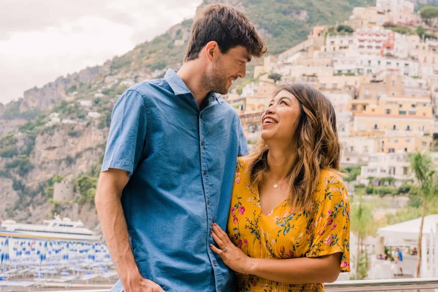 Honeymoon adventure on Italy's Amalfi Coast