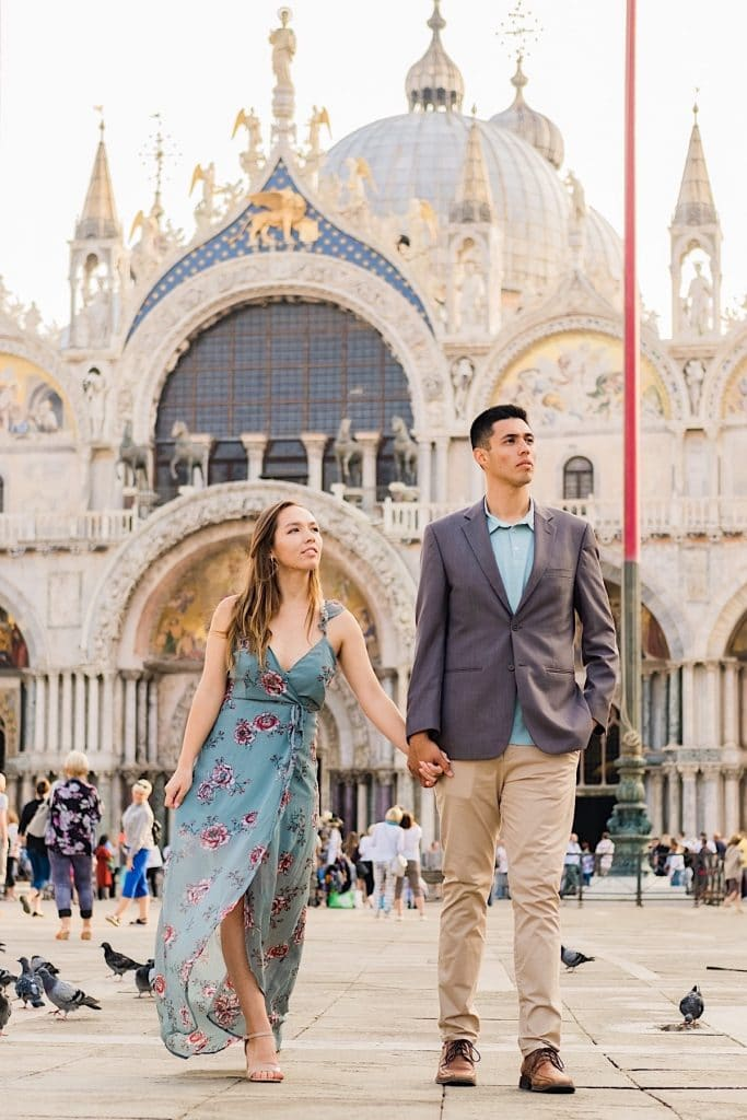 Engagement photos in Italy