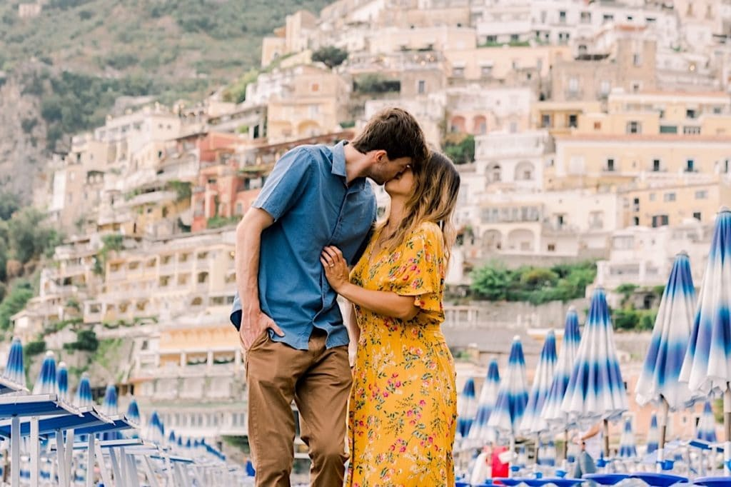 Positano Italy engagement session