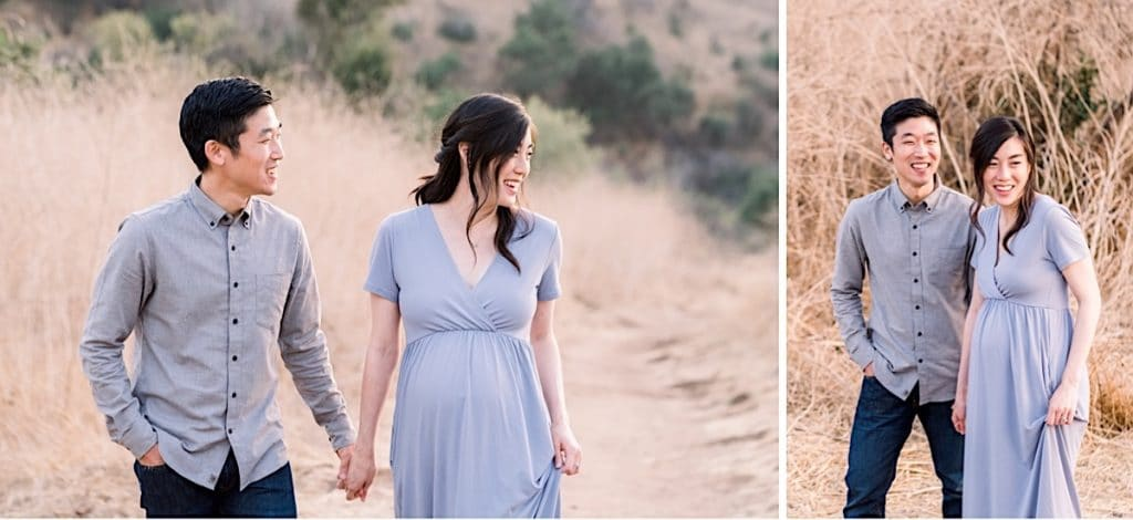 Colorful maternity photoshoot in Orange County California