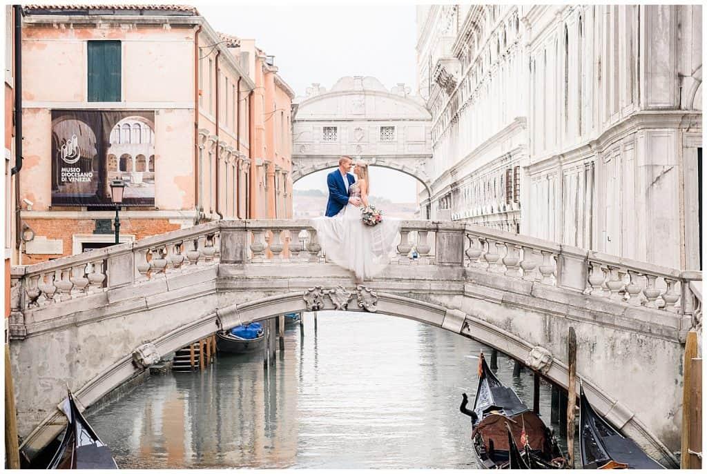 Venice Italy Elopement - California Elopement Photographer - Venice Italy Photographer
