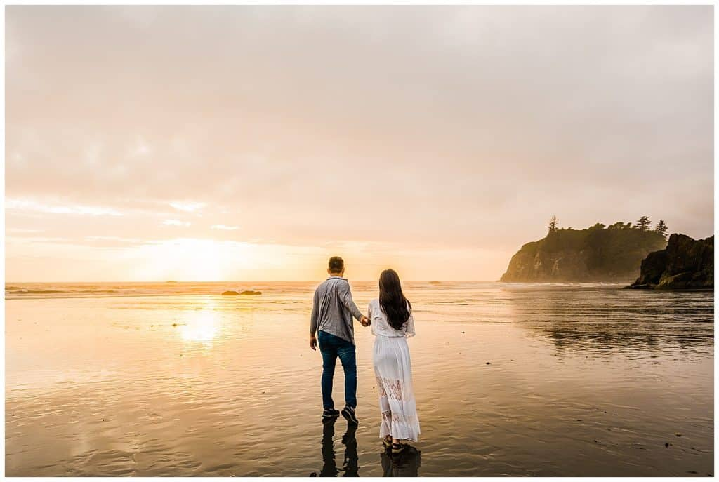 Ruby Beach Elopement - Ruby Beach Seattle Washington - California Elopement Photographer